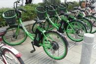 공유의 천국 中…전기 모터 장착한 공유 자전거 등장