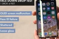 내구성 강한 아이폰X…1.83m서 떨어지니 '우지끈'