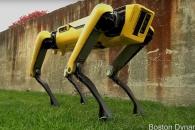 진짜 개처럼 움직이는 4족 보행 로봇 공개