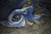 [우주를 보다] 신이 물감으로 그린 듯…목성의 구름과 폭풍