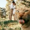 [모바일픽!]신랑·신부 제치고 결혼식 주인공 된 동물들