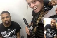 브라질 마약 보스와 웃으며 '기념 셀카' 경찰 논란