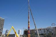 세계에서 가장 높은 레고 타워, 이스라엘에 등장