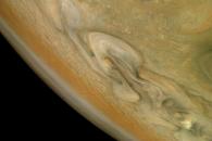 [우주를 보다] 그림을 그린듯…폭풍치는 목성의 북쪽