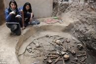 마야문명 베일 벗겨 줄 2400년 전 유골 발견