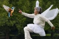[월드피플+] 기상천외 셀카로 유명작가된 日 89세 할머니
