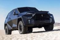 한 대에 20억원…스텔스기 닮은 세계서 가장 비싼 SUV
