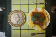 동전 크기의 한끼 식사… '초소형 요리 교실' 화제