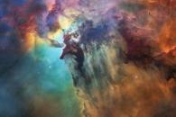 [우주를 보다] 우주선을 타고 본다면…석호 성운 공개 (영상)