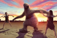 [와우! 과학] 1만년 전 키 2m '거대 나무늘보' 살았다…인류에 멸종