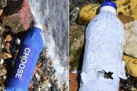[와우! 과학] 바닷물에 3주 만에 분해되는 '일회용 병' 개발
