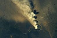 [지구를 보다] 우주에서 본 하와이 킬라우에아 화산 폭발