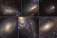 [우주를 보다] 허블우주망원경이 포착한 고해상도 이웃 은하