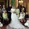 '로열 패밀리' 한자리에…英왕실 결혼식 가족사진 공개