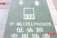 [와글와글+] '스마트폰 보행족' 전용도로 등장…꼭 필요할까?