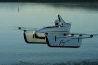 [와우! 과학] 물 위를 나는 '플라잉 카' 공개…일반인도 운전 가능