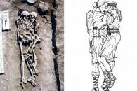 서로 꼭 껴안은 채 묻힌 3000년 전 '부부 유골' 발견