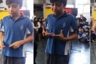 청각장애인 엄마에게 수화로 노래 불러준 초등학생 감동