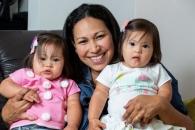 100만 분의 1 확률… '다운증후군 쌍둥이' 가족 이야기