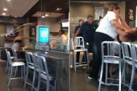 美 맥도날드서 직원 vs 고객 난투극…사건 발단 이유는?