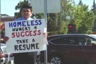[월드피플+] 돈 대신 일자리 원한 노숙인, 구글 등 대기업 입사 제안받아