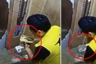 [여기는 중국] 고객 음식 '몰래 먹는' 배달앱 직원 포착