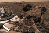 [우주를 보다] 우울한 붉은땅…큐리오시티가 촬영한 360도 파노라마 화성