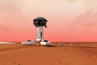 새로운 화성 유인기지 구상 발표, 가까운 미래에 현실화될까?