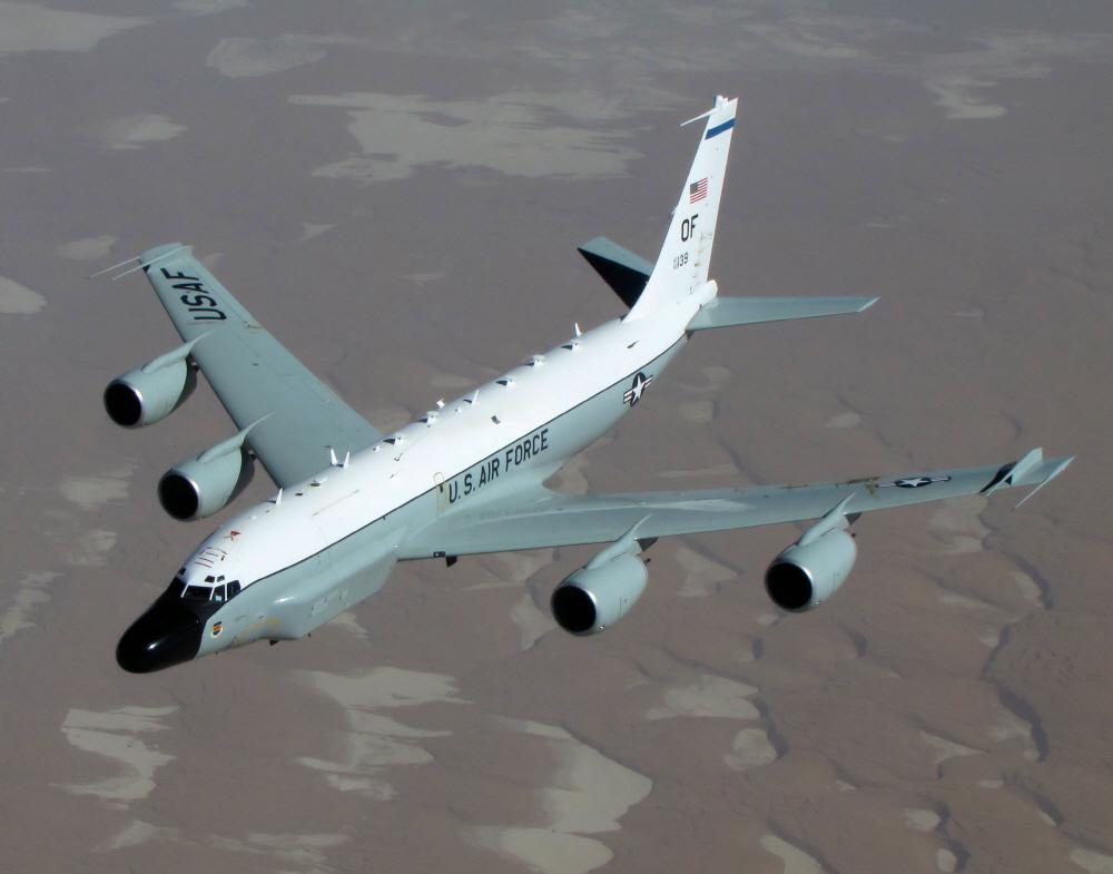 [김대영의 무기 인사이드] '북한 감시' 미국의 대표적인 전자정찰기 'RC-135'