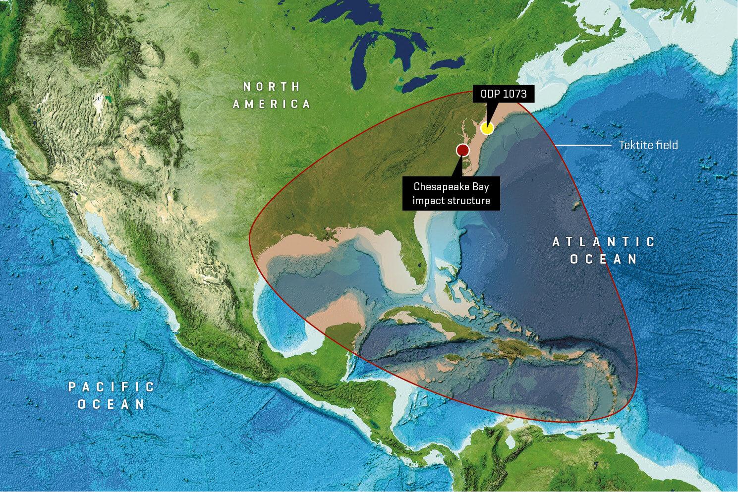 [와우! 과학] 3500만 년 전 미국 초토화…소행성 충돌 증거 발견