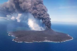 세계서 가장 어린  일본 해저화산 폭발