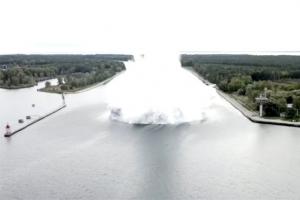 2차대전 5400㎏ 불발탄 해체 중 폭발