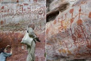 아마존서 1만년 된 12㎞ 길이 벽화 발견