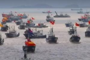 멸종위기종도 싹쓸이…바다 휩쓰는 중국 어선의 '오징어 게임